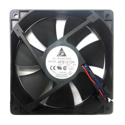 Delta 120x120x25mm High Speed Fan with Locked Rotor Sensor AFB1212H-R00 - Coolerguys
