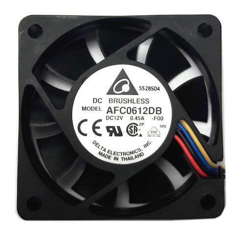 Delta 60x60x15mm 12 Volt PWM Fan-AFC0612DB-F00