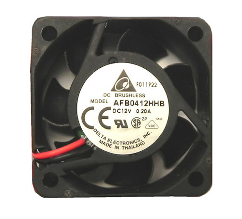 Delta  40X40X15mm 12V High Speed Ball Bearing Bare Wire Fan-AFB0412HHB - Coolerguys
