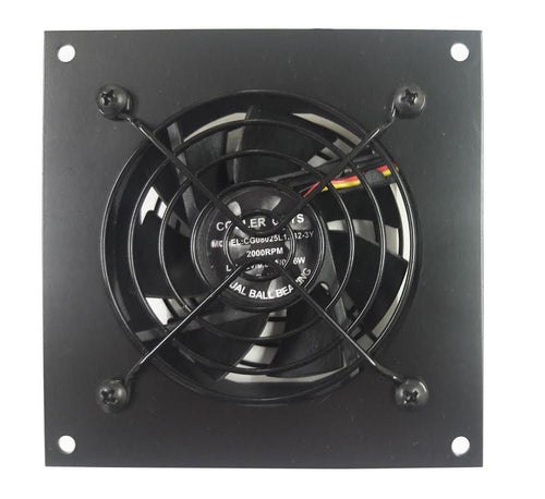 Coolerguys Single 80mm Fan Cooling Kit with Thermal Controller - Coolerguys