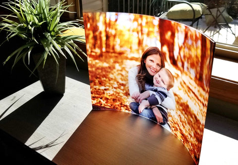 Curved Acrylic Prints