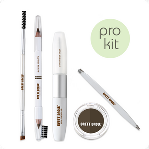Brett Brow Duo-Shade Kit (Medium Brunette)