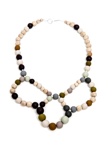 Pirouette Necklace Olives