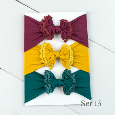 Nylon Headwrap Set 15