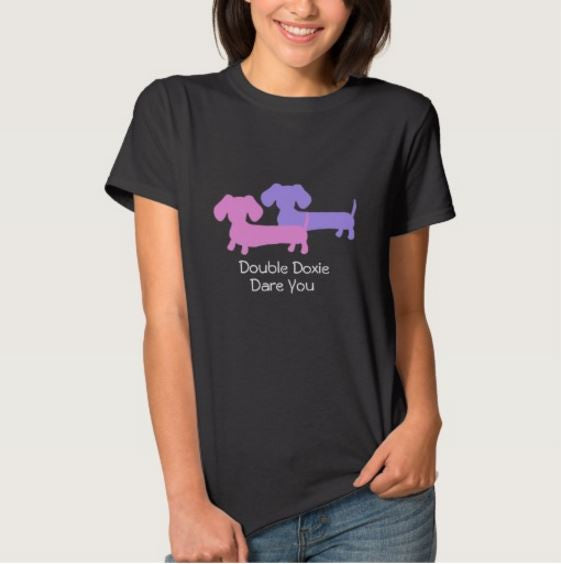 Double Doxie Dare You t-shirt, The Smoothe Store