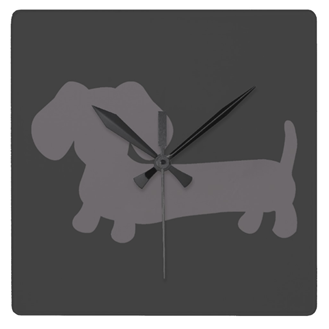 Dachshund Wall Clocks, The Smoothe Store