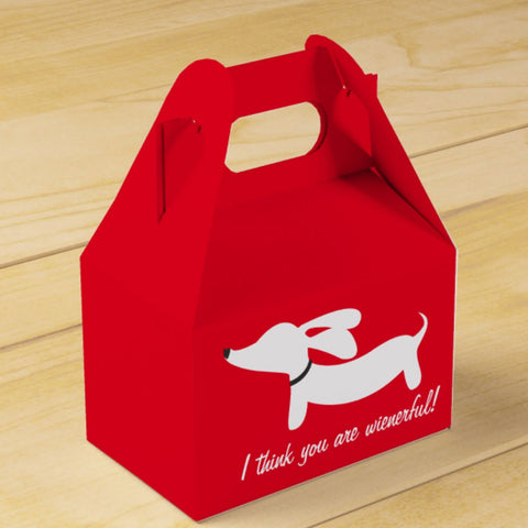 I think you are wienerful! Gift or Favor Box