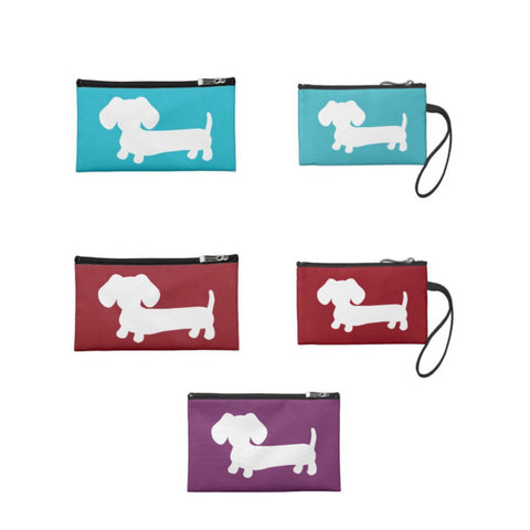 Dachshund Travel and Small Accessory Bags