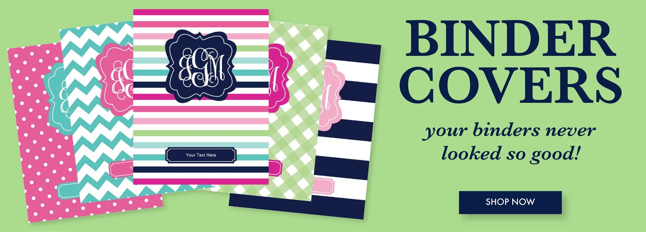 Printable Binder Covers allow you to create a unique, eye catching, and personalized organization system for your school binders, office binders, home binders, and beyond! Say goodbye to plain and boring binders by downloading, personalizing, and printing your own custom binder covers!