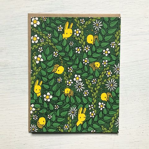 foliage friends card