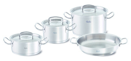 Fissler Original Pro  4 Piece Set with Fry & Serve Pan