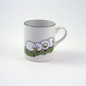 Zeller Shepherd & Sheep Children's Mug 20cl