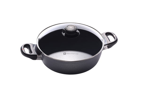 Swiss Diamond Nonstick Casserole - 3.2 QT (9.5