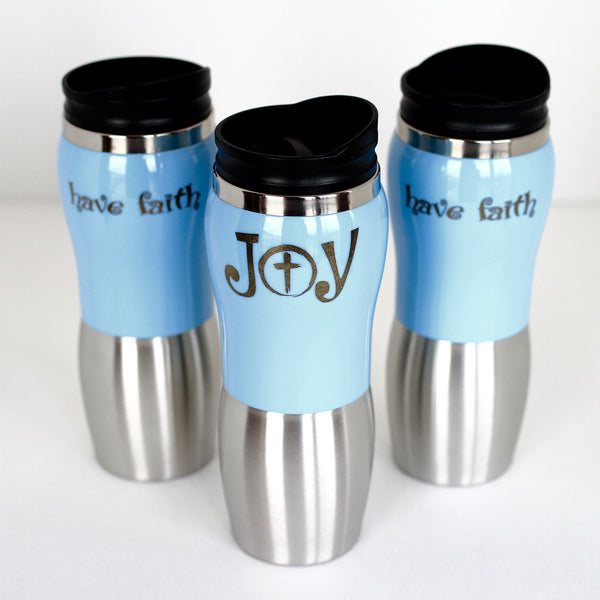 Curvy Travel Tumbler -14 oz