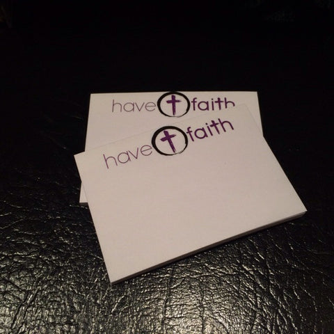Have Faith Post-it Notes