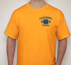 Blessed Sacrament Gold Football Tee