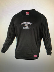 Rawlings Dugout Long Sleeve Embroidered Fleece Pullover