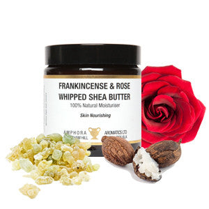 Amphora Aromatics Frankincense and Rose Shea Butter (120ml)