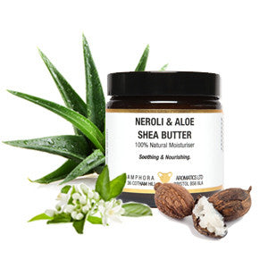 Amphora Aromatics Neroli and Aloe Shea Butter (120ml)