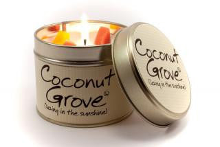 Lily-Flame Coconut Grove Candle