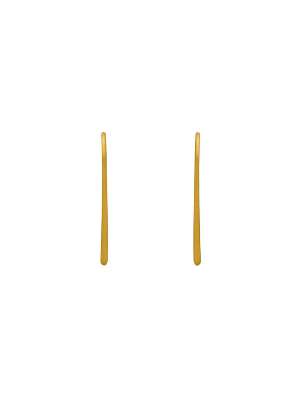 Minimalist Ear Thread Earrings