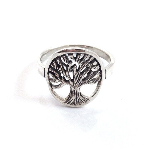 Silver Tree of Life Ring, $14 | Sterling Silver | Light Years Jewelry