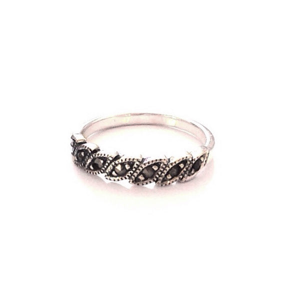 Silver Marcasite Ring, $12.50 | Sterling Silver | Light Years Jewelry