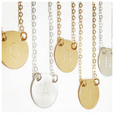 Chloe Initial Necklace | Gold  (A&B)