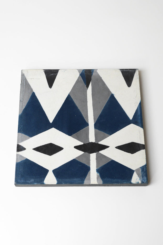 Blue Diamond Tile