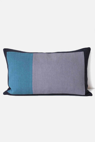 Two Thirds Cushion - Teal
