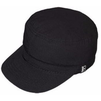 Ripstop Military Cap BLACK / L, HATS - BRONER, Levine Hat Co. - 1