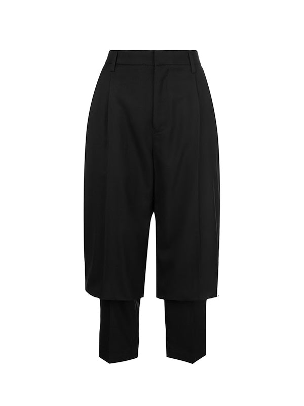 Wool Pant in Black