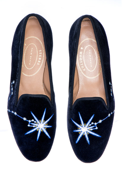 Pisces Midnight Men Slipper - Pisces Midnight Men Slipper