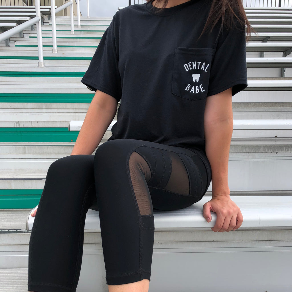 Dental Babe Pocket Tee