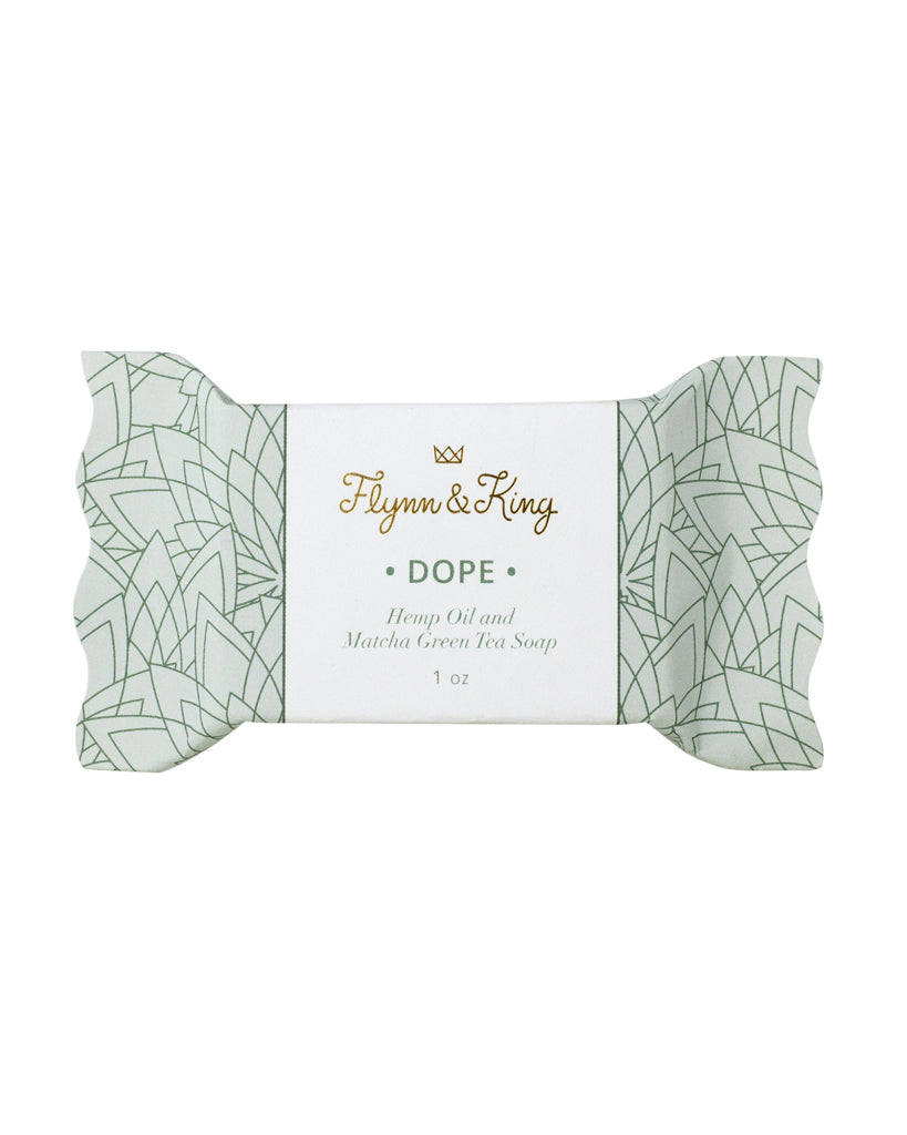 DOPE - Hemp and Matcha Green Tea Guest Size Soap