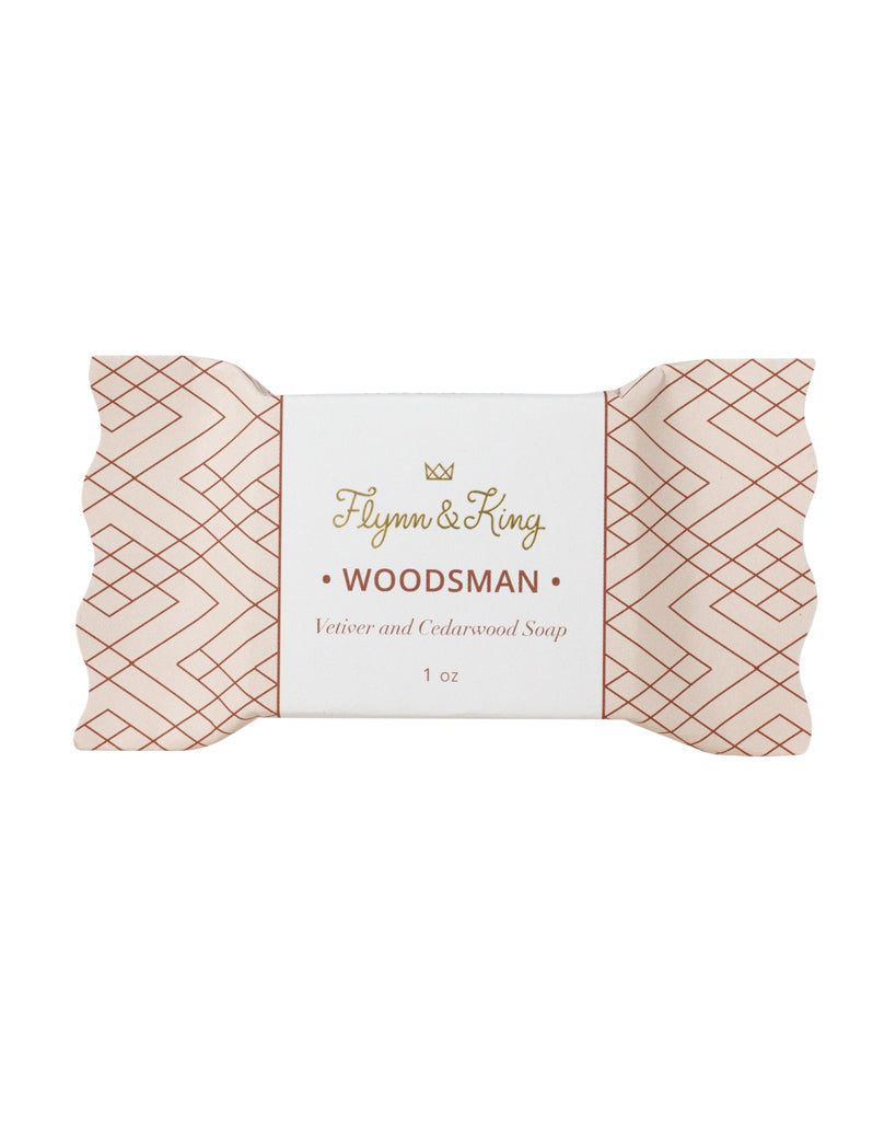 WOODSMAN - Vetiver & Cedarwood Guest Size Soap