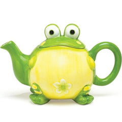 Toby the Toad Frog Teapot