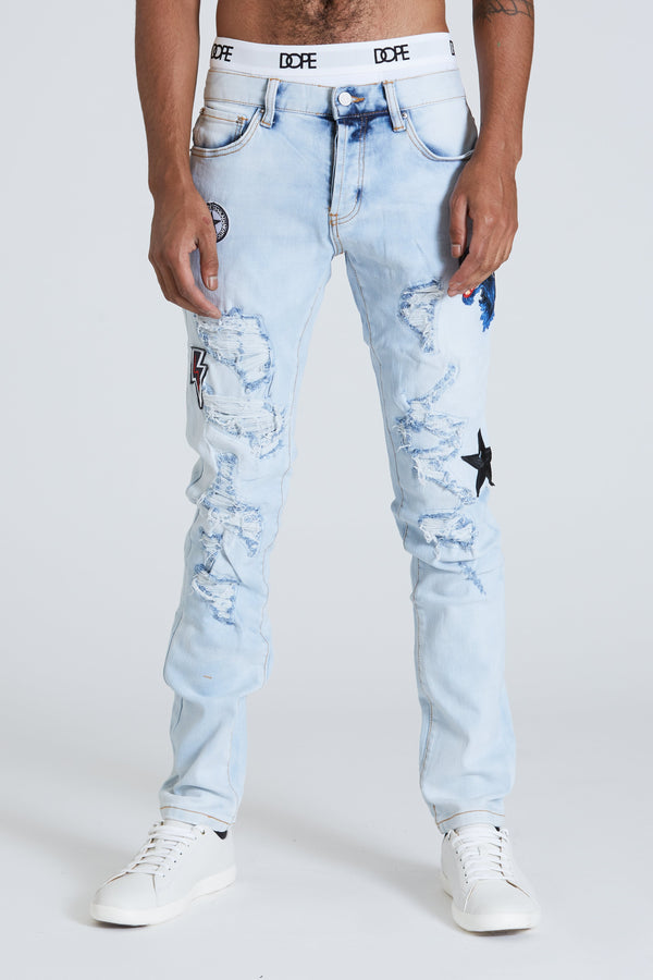 Dope Viper denim #Blue