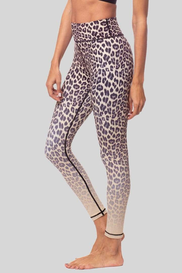 Rockell 7/8 Legging, Sand Leopard Ombre | Vie Active