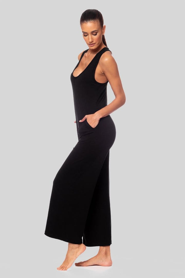 Jackie Jumpsuit, Black | Vie Active