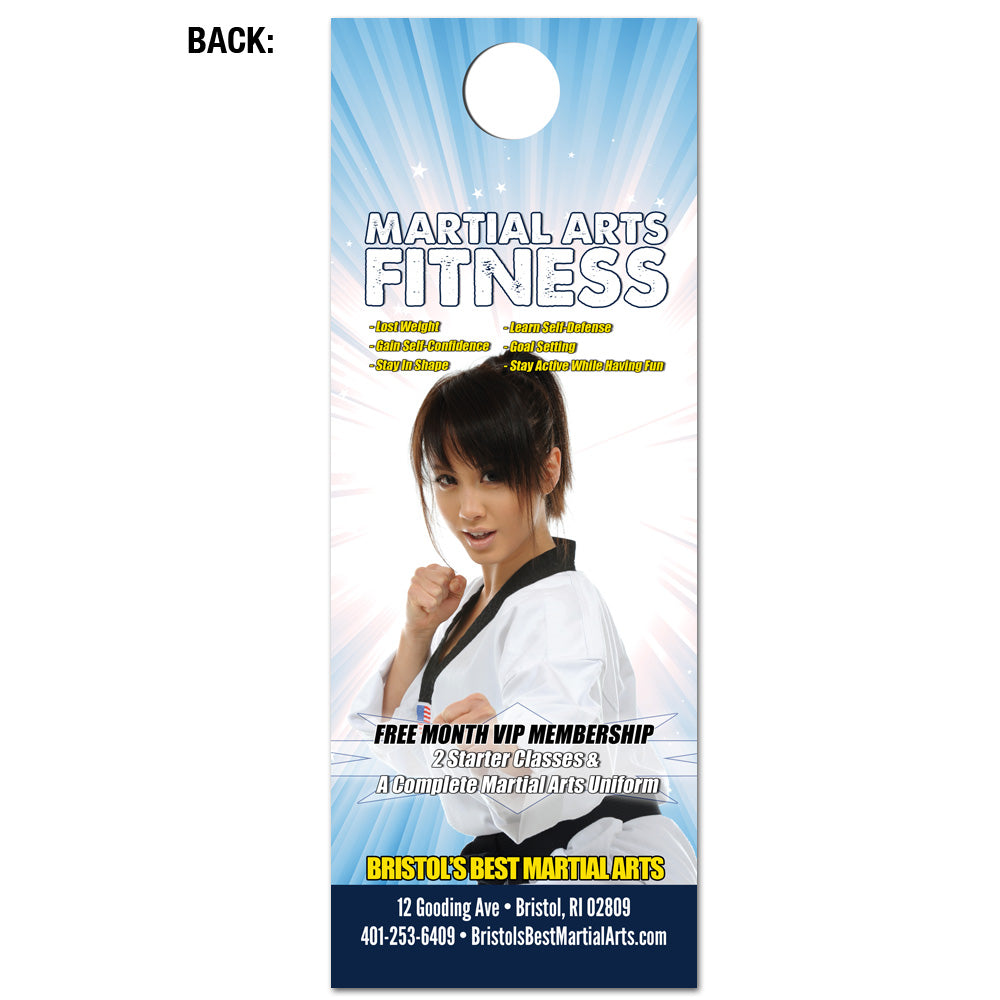 Concentration & Fitness Door Hanger