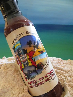 Genuinely Bahamian RAKE AND SCRAPE Backyard BBQ Sauce