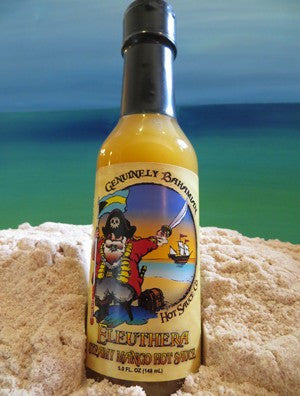 Genuinely Bahamian ELUETHERA Steamy Mango Hot Sauce