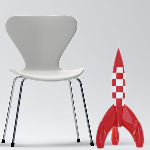 Tintin Rocket - 60cm high - Numbered Limited Edition - FREE UK DELIVERY.