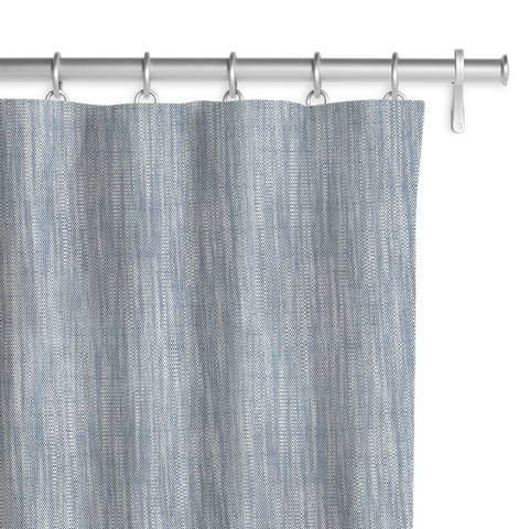 Linen-cotton blend - Ice Blue Panel