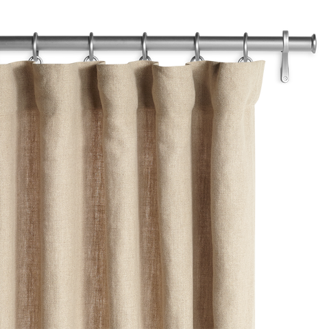 Belgian Textured Linen  - Flax Panel