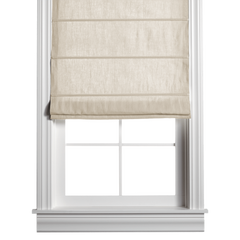 Barn & Willow | Washed Belgian Linen Roman Shade - Sand product image