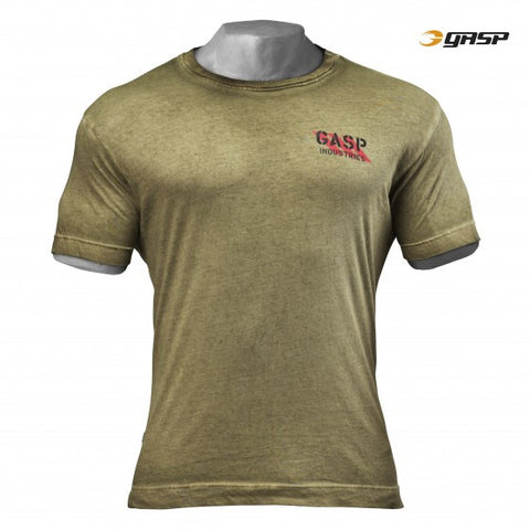 GASP STANDARD ISSUE TEE - MILITARY OLIVE