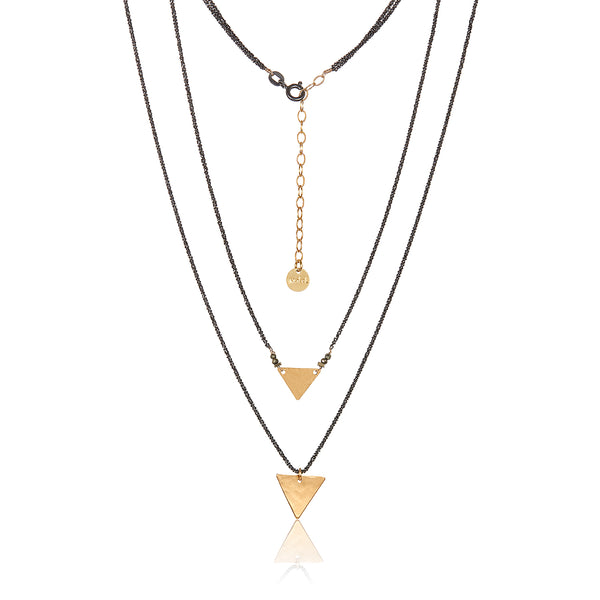 Sacred Triangle Necklace