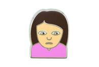 Sad Girl Pin